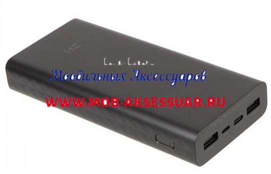 Xiaomi power bank 20000 mAh Black